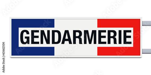 Fotografía  Panneau - Gendarmerie