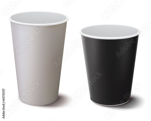 Valokuva Coffee cup isolated. Vector illustration