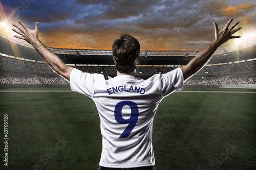 Obraz na plátně  English soccer player