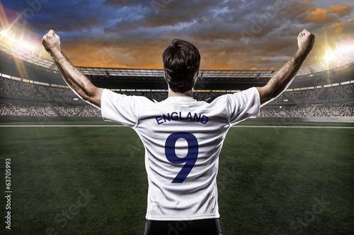 Fotografie, Obraz  English soccer player