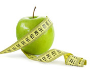 Apple With Measuring Tape, Cli...
