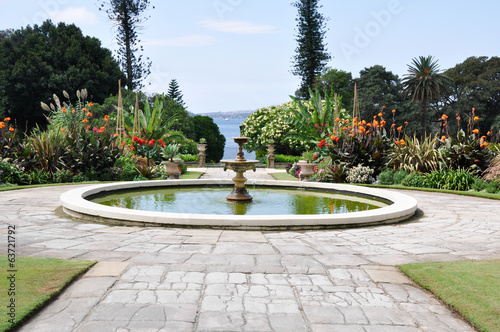 Gardens of the Government House, Sydney (Australia)