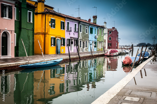 Foto op Plexiglas Venetie Views around Burano af Venice Italy Europe