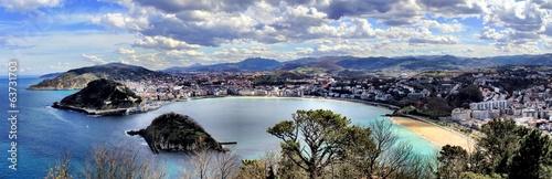 Fototapeta premium san sebastian, hiszpania