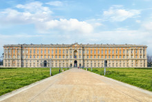 Front View Royal Palace Caserta Italy