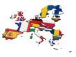 Europäische Union mit Landesflaggen 4