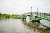 Zielony most w parku Tsaritsyno - Moskwa