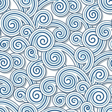Abstract Swirly Waves, Seamles...