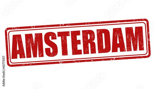 Photo  Amsterdam stamp