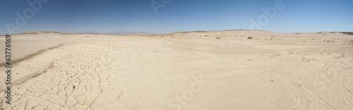 Arid desert landscape