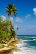 Coastline of San Andres Island in Colombia
