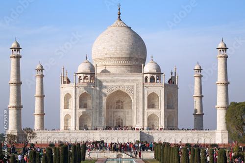 Fotografie, Obraz  Taj Mahal focus