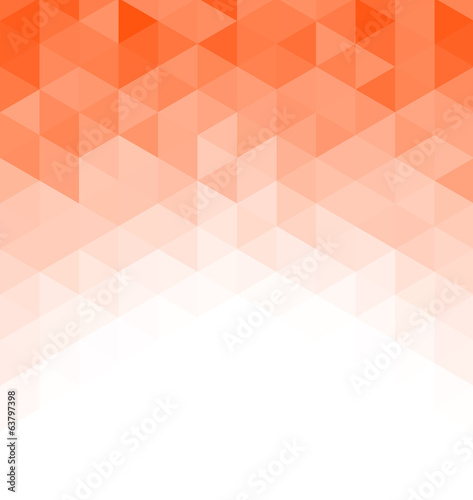 Wall mural - Abstract triangle mosaic background