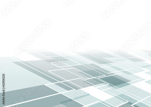 Fotografiet  Modern flying tile background template