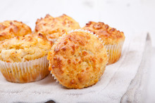 Savory Cheese And Bacon Muffin...