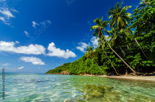 Clear Water and Secluded Beach