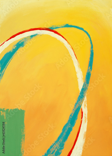 an abstract painting Canvas-taulu