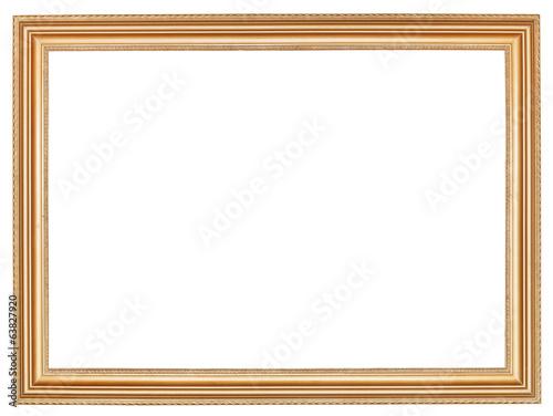 Fotografía  classic wide retro wooden picture frame