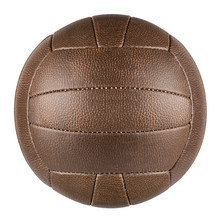 Brown Retro Soccer Ball