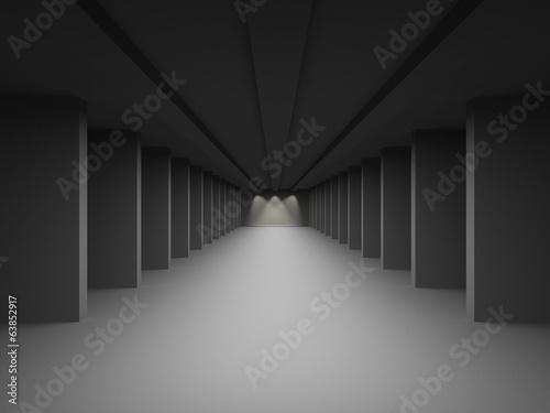 hall-korytarz-z-kolumnami-pojecie-celow-i-jasny-f