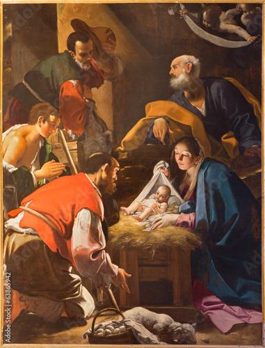 Fotografija  Bologna - The Adoration of the Shepherds in st. Pauls church