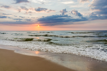 Fototapeta Wschód / zachód słońca Sea Sunset
