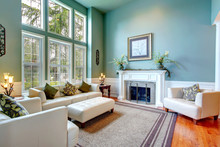 Luxury House Interior. ELegant...