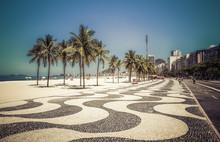Palms On Copacabana Beach In R...