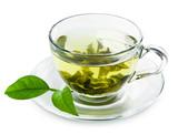 Green tea .