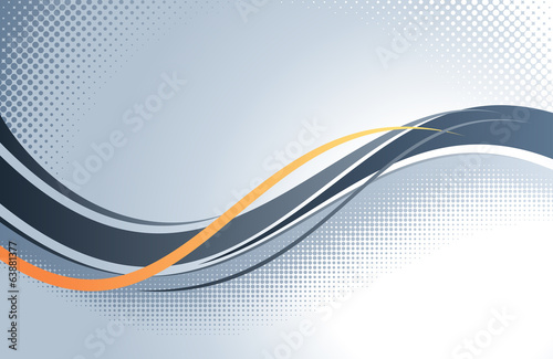 Poster Abstract wave Abstract Vector Background