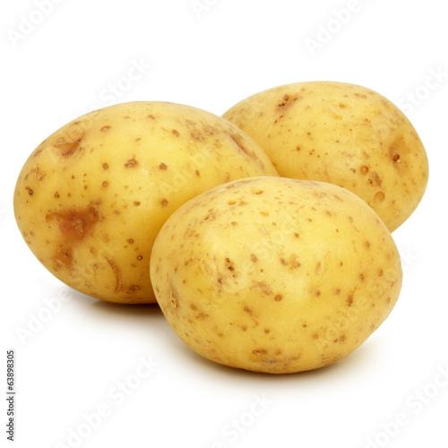 Leinwand Poster Potatoes - Pommes de terre