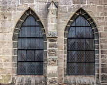 Old Church Window Showing Much...