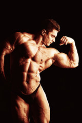 Fototapeta big biceps