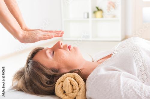 Photo  Reiki healing