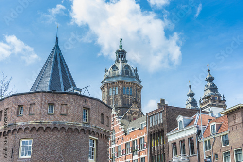 Photo  Saint Nicholas church in Amsterdam, Netherlands