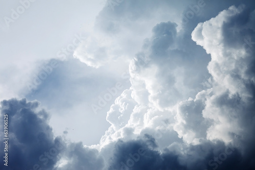Fotografie, Tablou Dramatic sky with stormy clouds