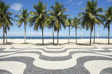Copacabana Beach Boardwalk Pat...