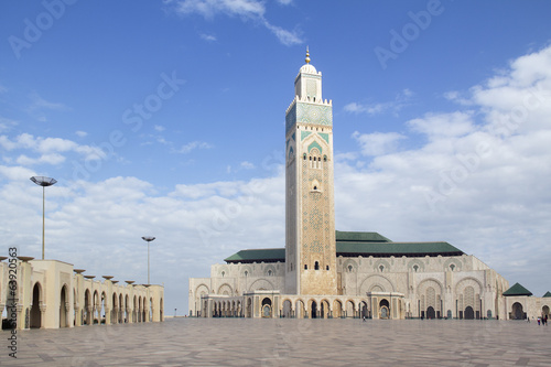 Papiers peints Maroc The Hassan II Mosque in Morocco