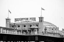 Brighton Beach Nahaufnahme Des...
