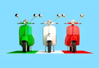 Fototapeta Motor Italian formation