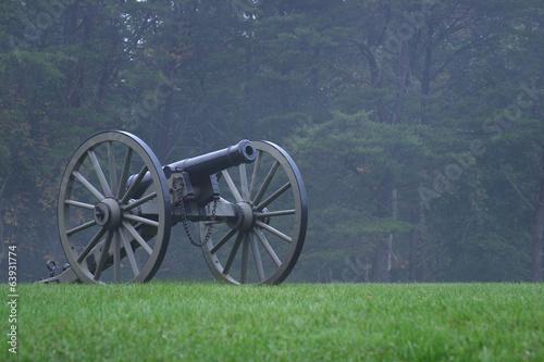 Civil War Cannon Tapéta, Fotótapéta