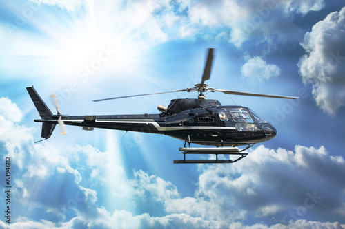 fototapeta na ścianę Helikopter na zwiedzanie