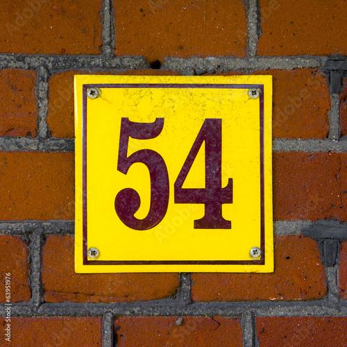 Fotografia  Number 54