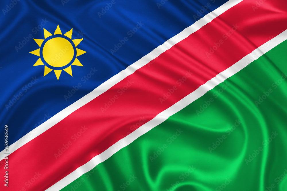 Fototapeta flag of Namibia