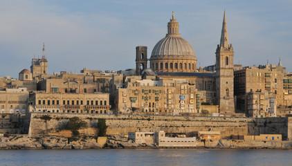 Fototapeta na wymiar Malta, the picturesque city of Valetta