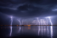 Thunderstorm And Lightnings In...