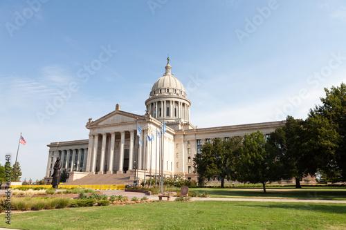 Oklahoma State Capitol Building Wallpaper Mural