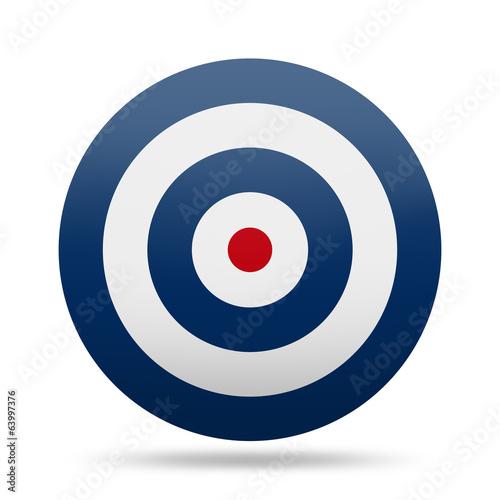 Valokuvatapetti Circle Target