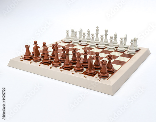 фотография  Gioco scacchi in 3D