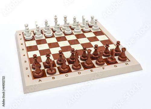 Photo  Gioco scacchi in 3D